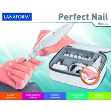 Маникюрно-педикюрный набор Перфект нейл LANAFORM PERFECT NAIL LA130507