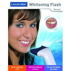 Набор для отбеливания и блеска зубов Вайтенинг Флеш кит LANAFORM Whitening Flash Kit LA13090100