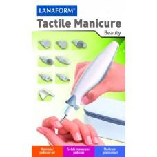 Маникюрно-педикюрный набор Тактил Маникюр LANAFORM Tactile Manicure LA130508