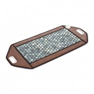 Нефритовый коврик с подогревом Docstor 50x100