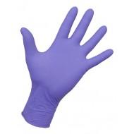 Перчатки медицинские 200шт нитриловыеNitriMAXэластичныелиловые