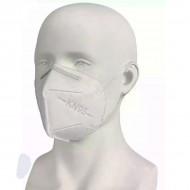 Респиратор-маска для лица KN95 без клапана