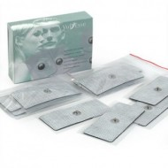 Клейкие гелевые электроды к миостимуляторам Vupiesse, 40ммх90мм упаковка 12шт.